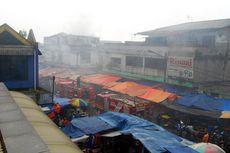 Sebuah Toko Kelontong di Pasar Anyar Bogor Terbakar
