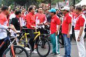 Serunya Gowes Pagi Jokowi sambil Bertemu Warga