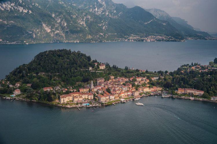 Danau Como di Ialia Utara