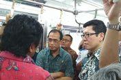 Resmikan Perumahan di Banten, Dua Menteri Naik KRL