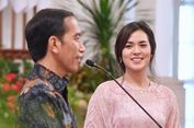 Jokowi: Akan Lebih 'Trending' kalau Saya yang Memandangi Raisa