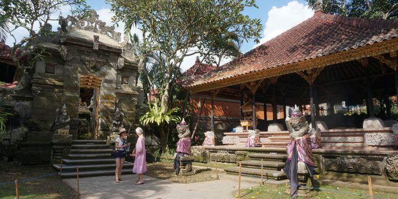 Bagian Puri Ubud di Gianyar Bali