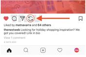 Instagram Bikin Tombol 'Regram' Sendiri?