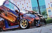 "Toyota Yaris ""Street Racing"" ala ""Ghost Rider"""