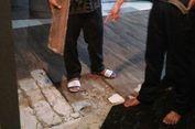 Lantai Hotel Setos Retak akibat Gempa di Selatan Jawa