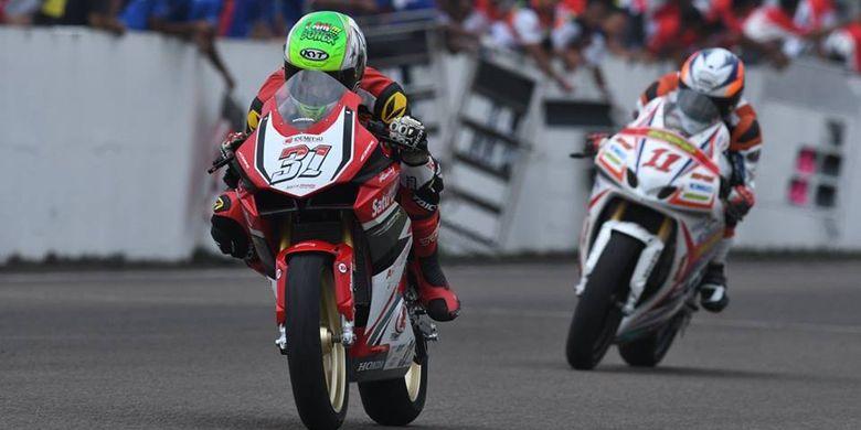 Gerry Salim Penuhi Target Honda Pada Seri Perdana ARRC