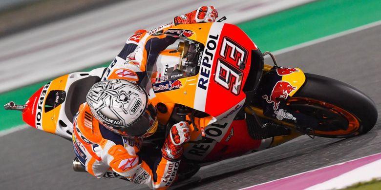 Marquez Dan Hasil Positif Pada Hari Pertama GP Qatar