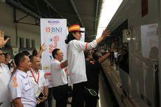 Menteri BUMN Lepas Pemudik dengan Kereta Premium