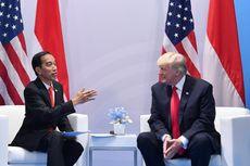 Jokowi: Ternyata Donald Trump Suka Melucu
