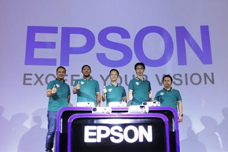 Peluncuran lini proyektor baru Epson.