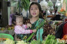 Sarwendah Asyik Berbelanja ke Pasar dengan Kenakan Daster