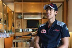 Kegembiraan Sean Gelael Seusai Latihan Pertama GP Singapura