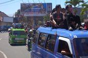 Senin, Seluruh Angkot di Magelang 'Mogok' Tolak Angkutan Online