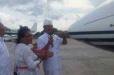 Diralat, Jet yang Disucikan Melalui Upacara di Bali Bukan Milik Setya Novanto