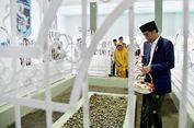 Jokowi Berziarah ke Makam Pahlawan Nasional Maulana Syaikh di Lombok