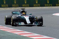 Hamilton Akan Pimpin Start Balapan GP Spanyol