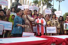 Menteri Yohana dan Istri Kapolri Kampanye Perlindungan Perempuan dan Anak