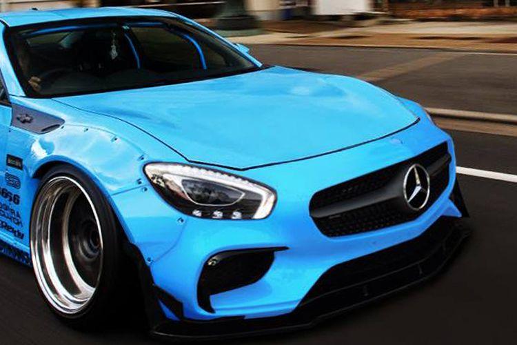 Kawin campur  Toyota 86 dan Mercedes-AMG GT S