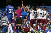 Conte: Kartu Merah Cahill Jadi 'Kunci' Kekalahan Chelsea