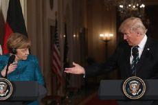 Benarkah Trump Tolak Bersalaman dengan Merkel?