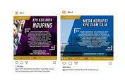 Ketika Akun Instagram DPR Unggah 'KPK Kerjanya 'Nguping''...