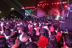 Ribuan Penonton Ramaikan Acara Countdown Asian Games 2018 di Monas