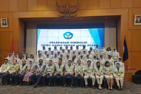 Mendikbud Melepas Secara Simbolis CPNS Guru Garis Depan 2016