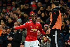 Hasil Liga Inggris, Man United Menang, Pogba-Ibra Kembali Tampil