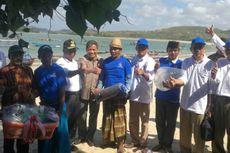 KKP Bantu Fasilitas Budidaya untuk Penangkap Benih Lobster di Lombok