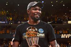 Raih MVP Final NBA, Durant Akui Sebelumnya Tak Bisa Tidur 2 Hari