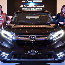 Honda Langsung Bawa CR-V Turbo ke Makassar