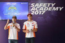 Marquez dan Pedrosa Antarkan Siswa SMA Bikin SIM