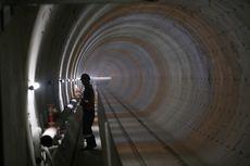 Melihat Perkembangan Pembangunan Stasiun MRT Jakarta Dari Dekat