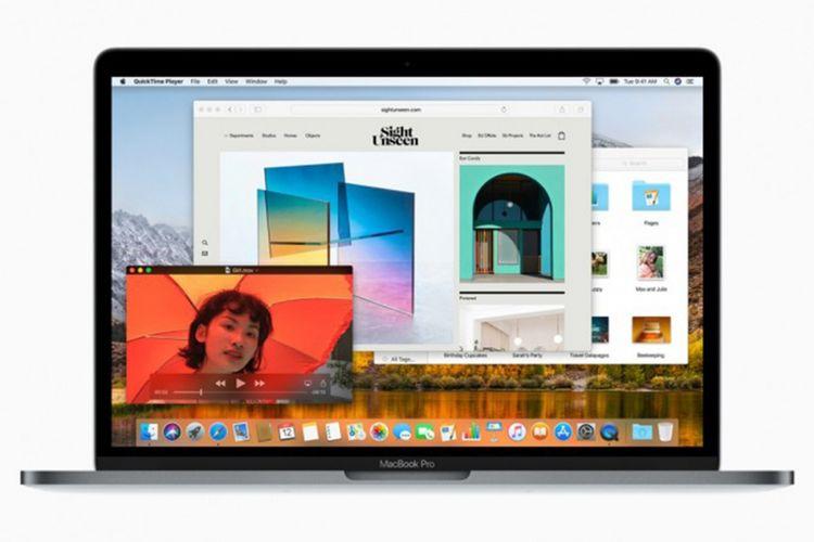 Ilustrasi Mac OS High Sierra.