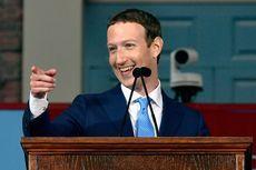 Harvard Berikan Gelar Bagi Mark Zuckerberg 12 Tahun Setelah