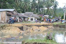 Banjir Landa Buton Utara, 2 Rumah Roboh dan Jalan Antar-kota Putus