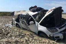 Empat Malam di Dalam Mobil yang Terjebak di Rawa dan Dikepung Buaya