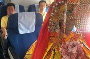 Patung Dewi China Naik Pesawat Bisnis dari Xiamen ke Kuala Lumpur