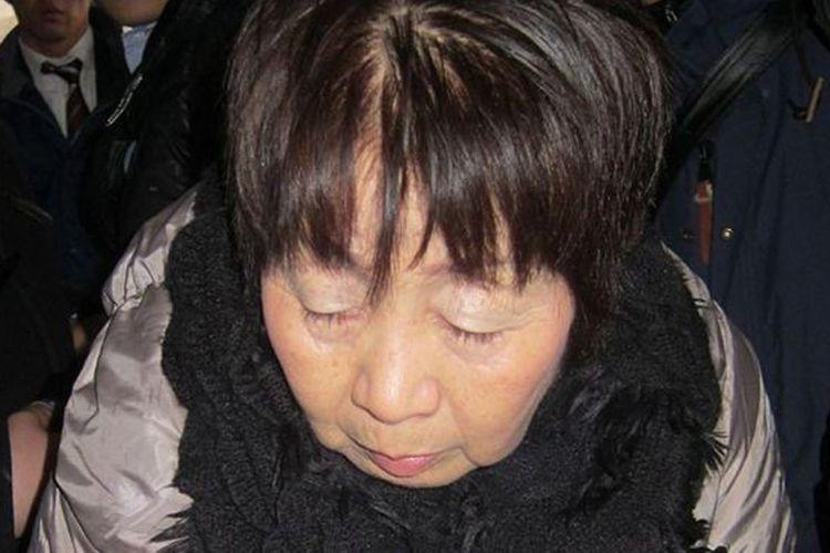 Chisako Kakehi, kini berusia 70 tahun, ditangkap pada 2014.