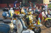 Rayakan 17 Agustus, 17 Scooterist Malaysia Touring ke Indonesia