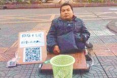 Di China, Para Pengemis Menerima Sedekah