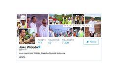 Jokowi Masuk 10 Besar Pemimpin Dunia dengan Pengikut Terbanyak di Twitter