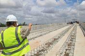 Bulan Depan, Rel LRT Palembang Mulai Dipasang