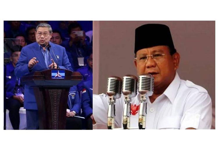 Susilo Bambang Yudhoyono dan Prabowo Subianto