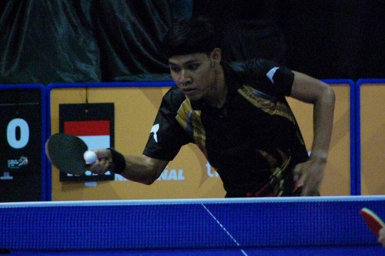 Tim tenis meja beregu Indonesia sukses menyapu bersih semua pertandingan beregu dengan kemenangan pada hari pertama ASEAN Para Games IX/2017 ketika berlangsung di Malaysian International Trade and Exhibition Center (MITEC), Kuala Lumpur, Minggu (17/9/2017).