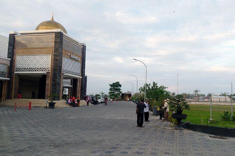 Masjid Namira, tampak depan