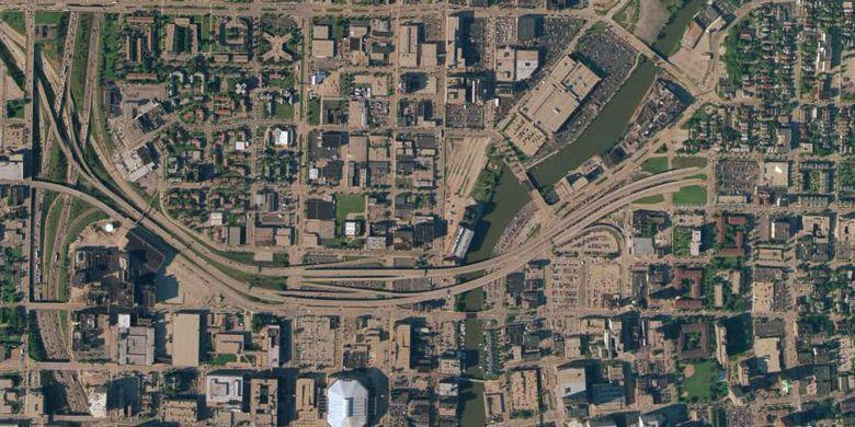 Park East Freeway, Milwaukee.