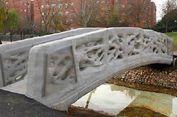 Hebat, Belanda Punya Jembatan 3D Pertama di Dunia