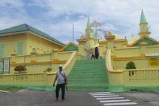 Masjid di Pulau Penyengat, Konon Dibangun dengan Bahan Putih Telur