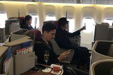 14,5 Jam Terbang Langsung dari Hangatnya Jakarta ke Romantisnya London